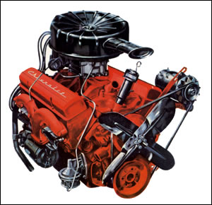 1957 283 TurboFire V8
