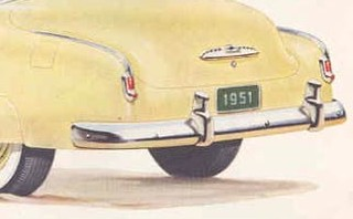 1951 Chevrolet Rear